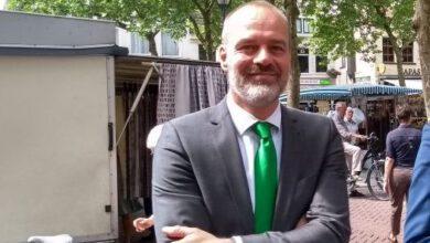 Photo of Wethouder Klaas Sloots vertrekt naar Stadskanaal