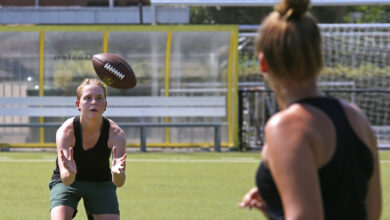 Photo of In beeld: Try-Out voor eerste American Football Team in Zwolle