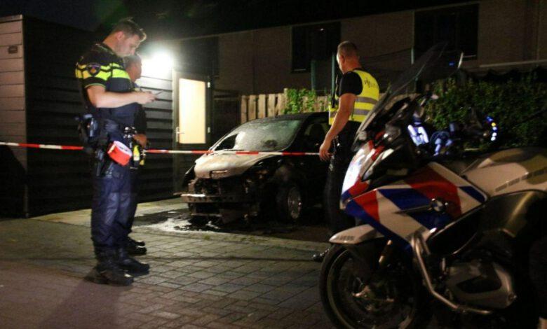 Photo of Opnieuw autobrand aan Jac. P  Thijsselaan