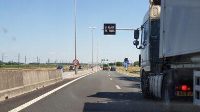 Photo of Weekendafsluiting N50 richting Lemmer tussen Kampen en knooppunt Emmeloord