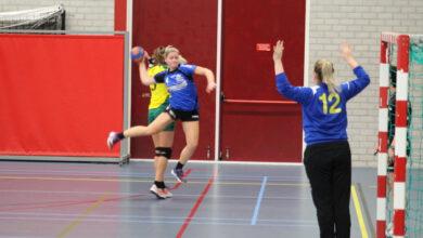 Photo of Handbalsters Travelbags/HV Zwolle konden slechte start niet rechtbuigen en zichzelf belonen in hun aanvallen