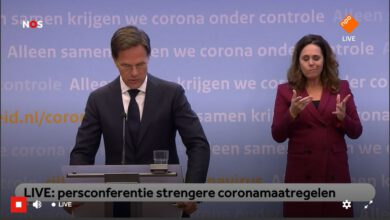Photo of LIVE: persconferentie Rutte en De Jonge over strengere coronamaatregelen