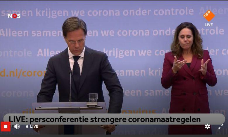 Photo of LIVE: persconferentie Rutte en De Jonge over strengere coronamaatregelen