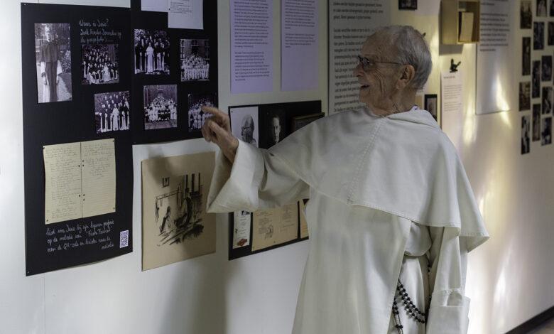 Photo of VIDEO – Tentoonstelling broeder Dominicus Zorn ter gelegenheid  60 jaar professiefeest