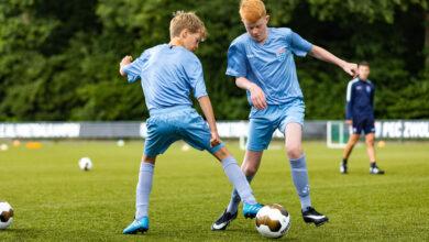Photo of PEC Zwolle Voetbalschool in het najaar 2020