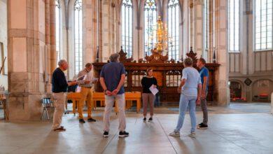 Photo of Rondleiding in Grote Kerk tijdens open monumentendag