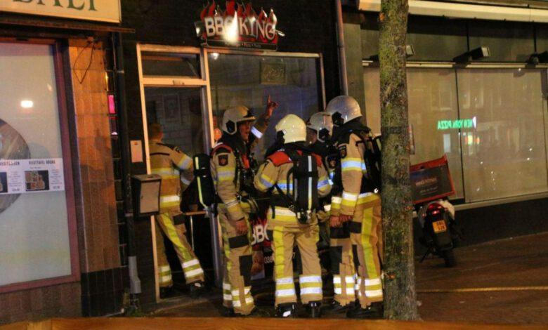 Photo of Brandweer rukt uit voor brand in afzuigpijp bij afhaalrestaurant
