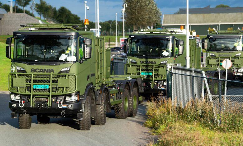 Photo of Eerste Scania Gryphus 8X8 aan Defensie Breda uitgeleverd