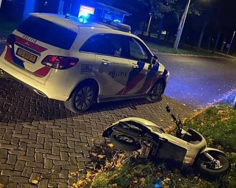 Photo of Verdachte van heling scooter op heterdaad betrapt