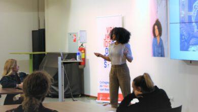 Photo of VIDEO – 3FM-dj Angelique Houtveen geeft vrijheidscollege op Cibap
