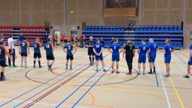 Photo of Travelbags/HV Zwolle handbalmannen lopen blauwtje op bij sterk spelend Kwiek