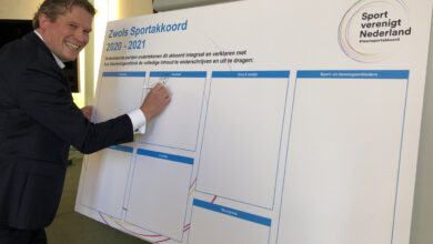 Photo of Zwols sportakkoord ondertekend