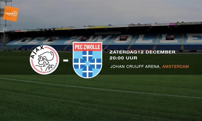 Photo of Voorbeschouwing Ajax – PEC Zwolle