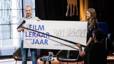 Photo of TalentStad docent Bart Valkenier Online Filmleraar van het Jaar
