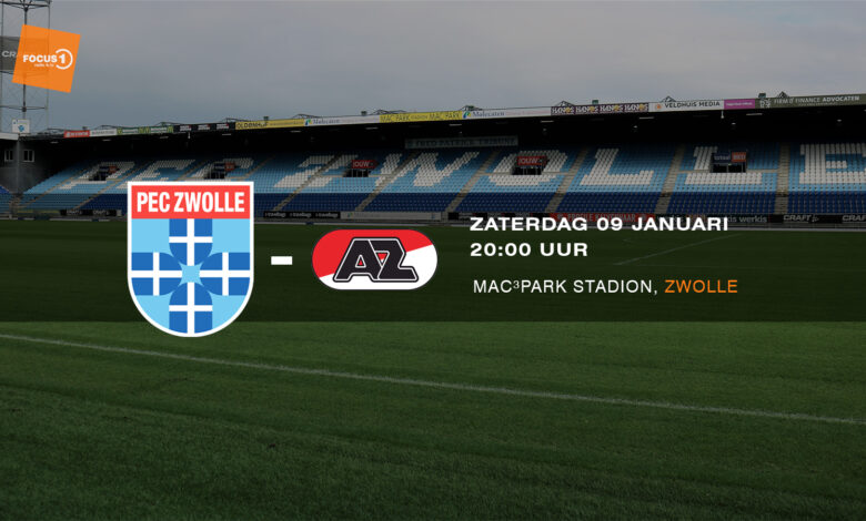 Photo of Voorbeschouwing PEC Zwolle – AZ