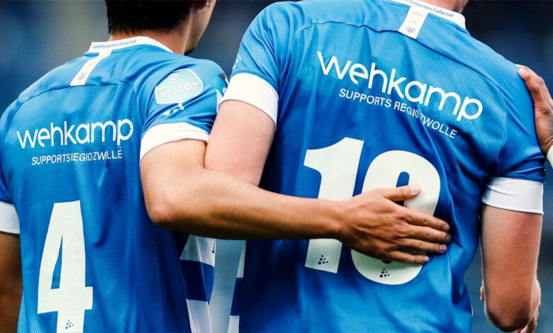 Photo of Wehkamp strategisch partner en shirtsponsor PEC Zwolle