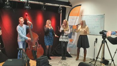 Photo of The Snowwhites – live op Radio Focus