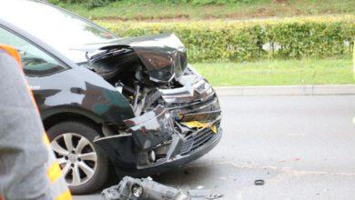 Photo of Schade en verkeershinder bij kop-staartbotsing Ceintuurbaan