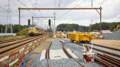 Photo of Eerste treinen duiken de drive-under in op 24 juli