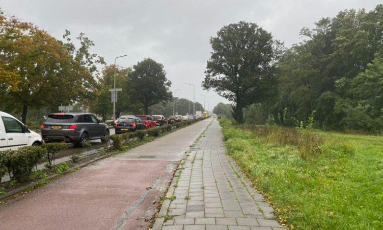 Photo of Opstopping op Hortensiabrug door ongeval