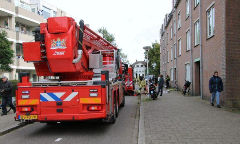 Photo of Brand in kast van appartement aan de Van der Capellenstraat
