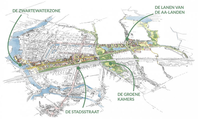 Photo of Plannen voor woningbouw aan de Zwartewaterallee weer een stap verder