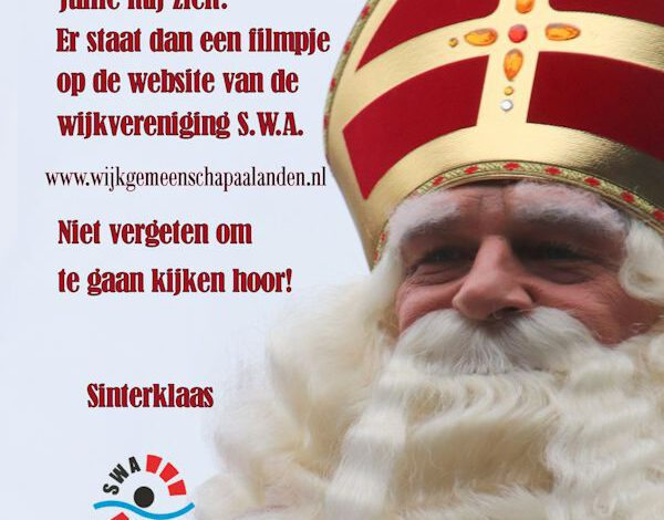 Photo of Alternatief voor Sinterklaasintocht in Aa-landen