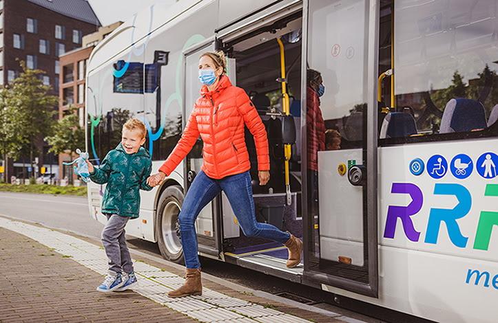 Photo of Tijdelijke bushaltes aangelegd voor de nieuwe dienstregeling