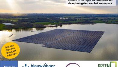 Photo of Stroom en euro's van Zonnepark Bomhofsplas