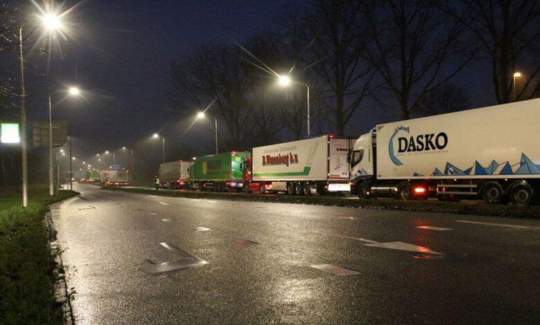 Photo of Boeren vertrokken bij distributiecentrum Albert Heijn