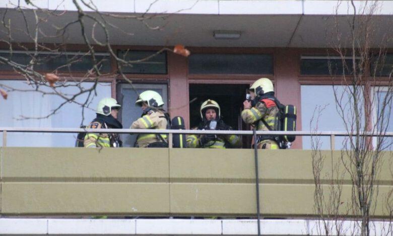 Photo of Brandweer rukt uit voor woningbrand Palestrinalaan