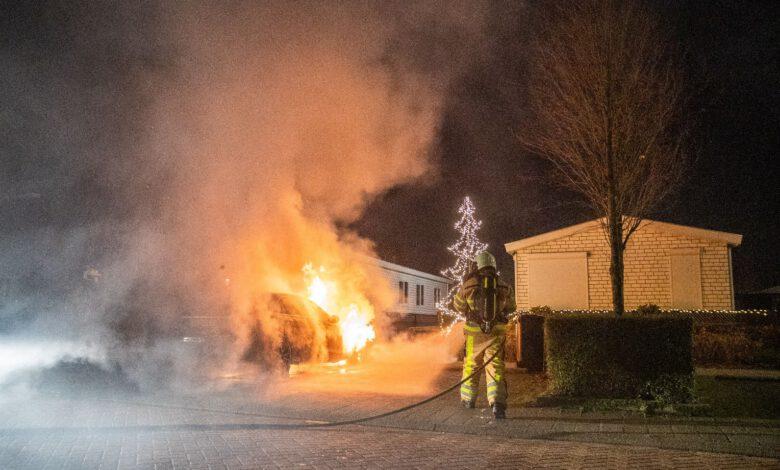 Photo of Opnieuw autobrand in Stadshagen