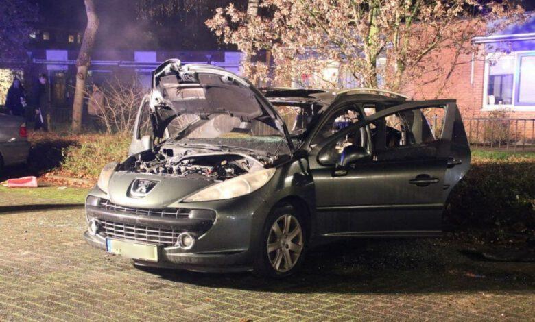 Photo of Autobrand aan het Haringvliet