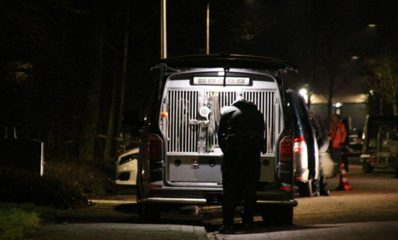 Photo of Politiehond ingezet voor sporenonderzoek mogelijk schietincident