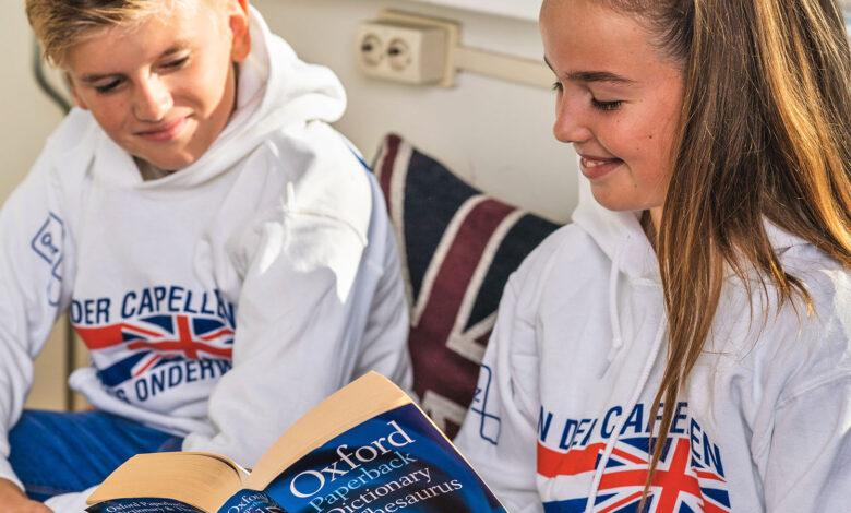Photo of Capellen English Academy: nieuwe naam voor tweetalig onderwijs Van der Capellen sg.
