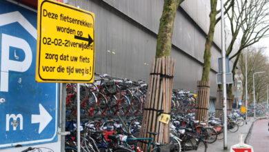 Photo of Fietsenrekken Westerlaan worden vanaf 2 februari verwijderd