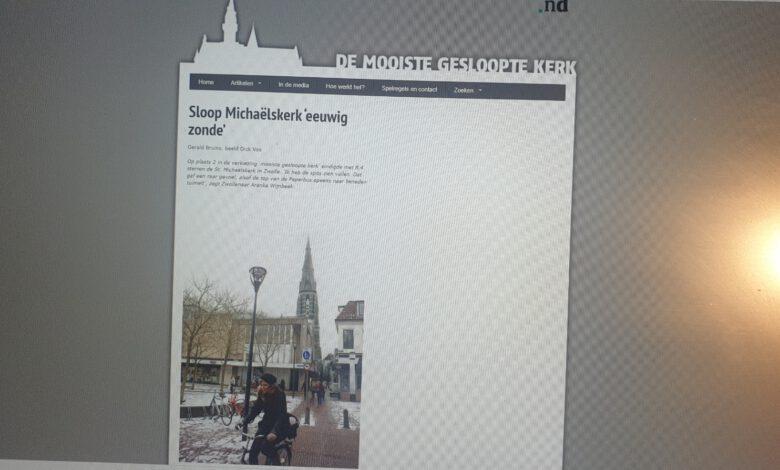 Photo of Tweede plek voor Sint-Michaëlskerk Zwolle in verkiezing 'Mooiste gesloopte kerk'