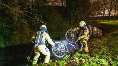 Photo of Elektrische fiets in brand op carpoolplaats