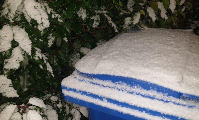 Photo of Poederlaagje sneeuw voor Zwolle van korte duur; vannacht mogelijk ijzel