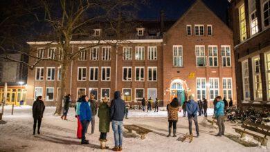 Photo of Brandje in kleioven Jenaplanschool Assendorp