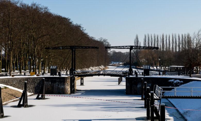 Photo of IJs niet dik genoeg in Zwolle