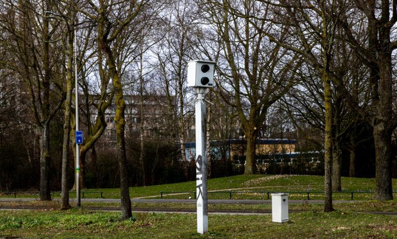 Photo of Zwartewaterallee Zwolle topscoorder onder de flitspalen