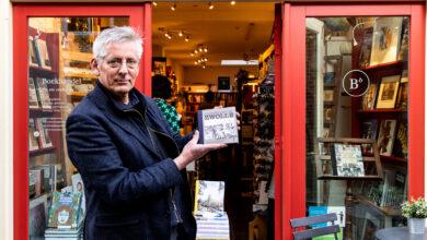 Photo of Aernout Steegstra heeft een boek met mooie pentekeningen van Zwolle gemaakt