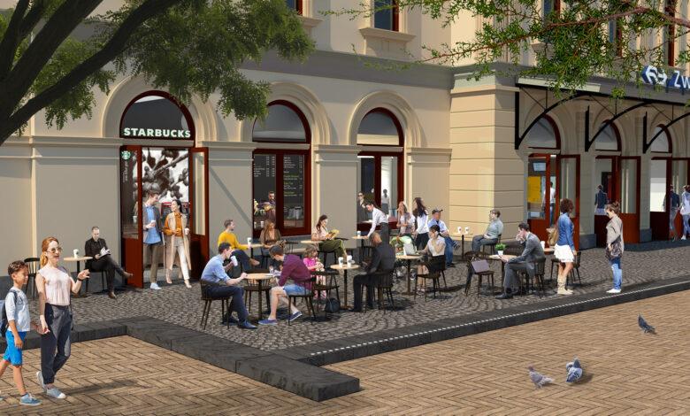 Photo of Starbucks Zwolle krijgt nieuwe plek in stationsgebouw