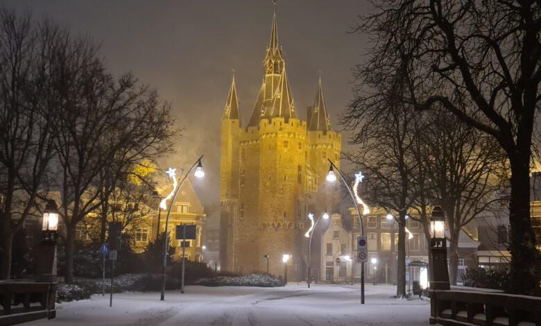 Photo of Zo ontwaakt Zwolle in een dik pak sneeuw