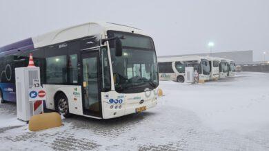 Photo of Niet rijden in de bus, maar achter de bus