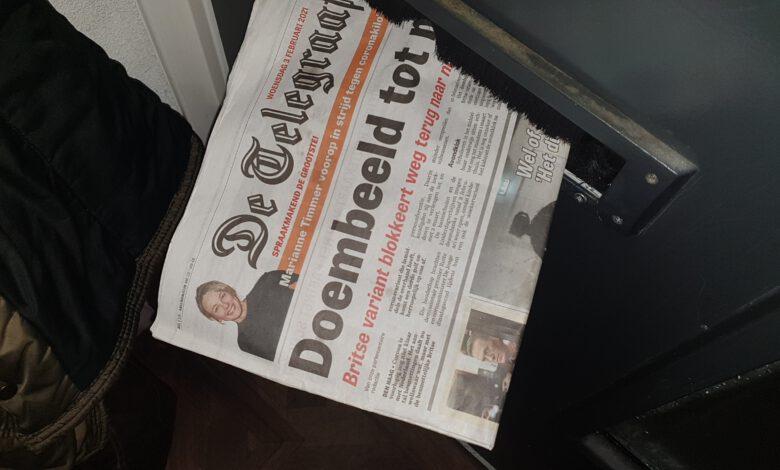 Photo of Geen krant in de bus morgenochtend