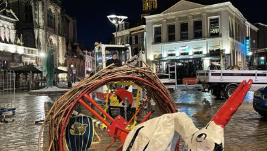 Photo of Eileuversnest op de Grote Markt in Sassendonk 2021!