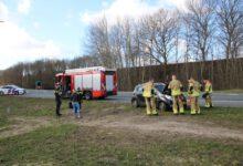 Photo of Autobrand op afrit A28 bij Zwolle blijken vastgelopen remmen