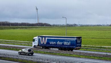 Photo of Windmolenpark verrijst langs N50 onder de rook van Zwolle